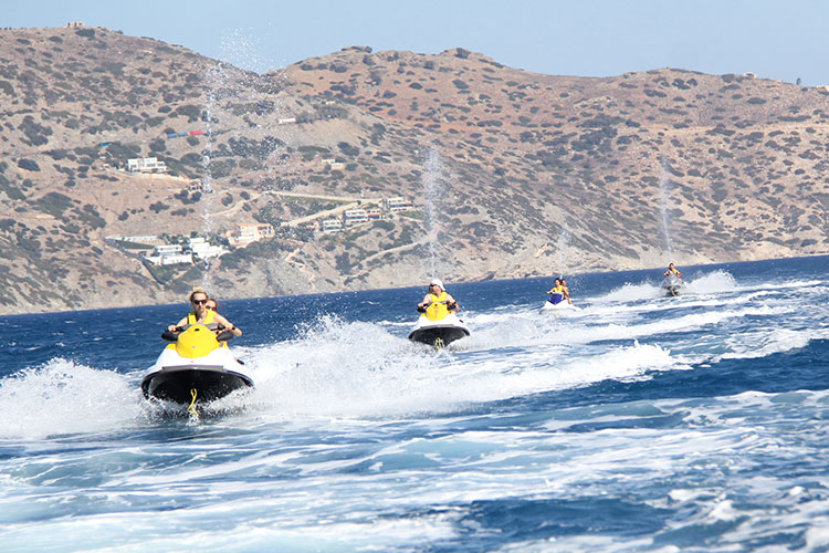 Carte Snorkeling Crete.Jet Ski Safari And Snorkeling Tour Water Sports Center